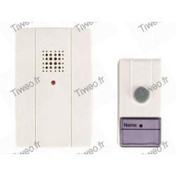 Wireless doorbell range 60M 16 different tones
