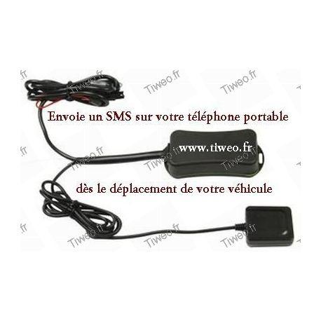 Alarme SMS/GPS pour véhicules automatique