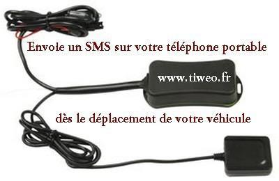 Alarme SMS/GPS automatique pour véhicules