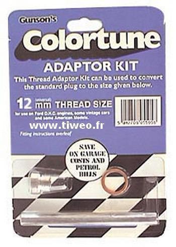 Tips adapter 12 mm tändstift COLORTUNE