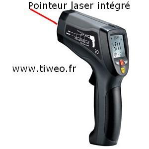 Termómetro de I.R Pro con estuche