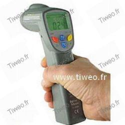 Termómetro infrarrojo con mira láser