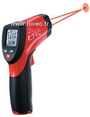 Termómetro precisión láser 650 °