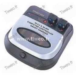 Cargador de pilas recargables Ni-MH / ni-CD totalmente automático