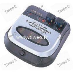 Carregador de baterias recarregáveis Ni-MH / Ni-Cd totalmente automático