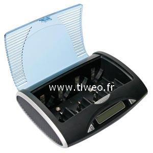 Caricabatterie Ni-MH universale con porta USB