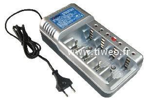 Universal fast charger Ni-MH / Ni-Cd