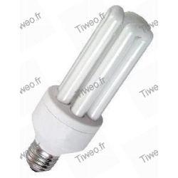 FLUO lámpara compacta E27 9W (40W)