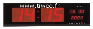 Tipo Aeropuerto LEDs gigante calendario reloj