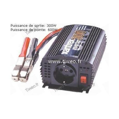 Convertisseur 12VDC -230VAC 300W