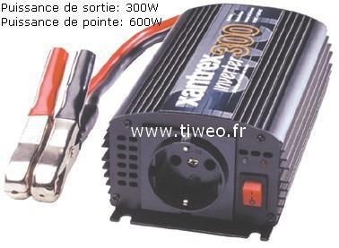Inversor 12VDC - 230VAC 300W