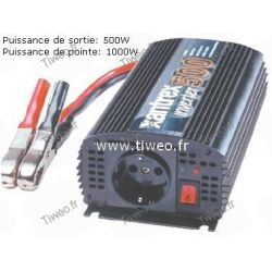 Convertisseur 12VDC -230VAC 500W