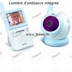 Niño y bebé de video vigilancia inalámbrico de 2,4 GHz
