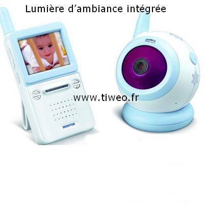 Videoövervakning baby och barn trådlös 2.4 GHz