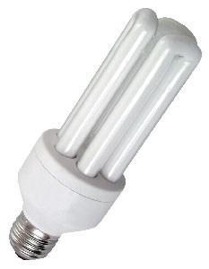 Lâmpada fluo compacta E27 15W