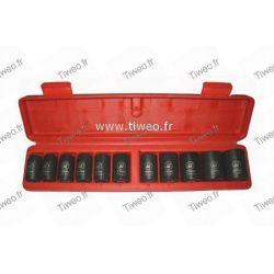 Casella 11 1/2 quadrato impatto chiave Sockets