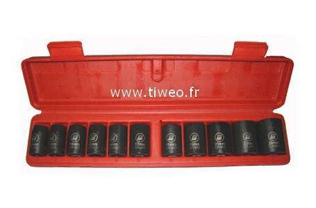 Chave de impacto quadrado caixa 11 1/2 soquetes