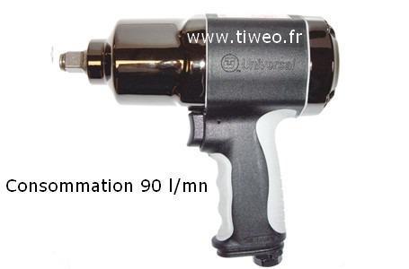 """Fyrkantiga sammansatta inverkan skiftnyckel 1/2 """"407 Nm"""