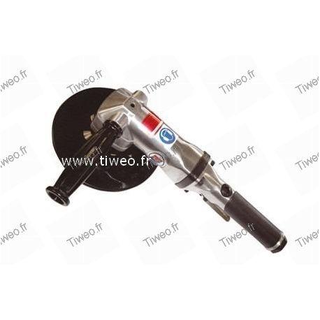 Disqueuse pneumatique à renvoi d'angle 180 mm