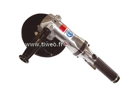 Grinder pneumatic angle is 180 mm