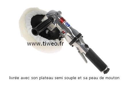 Acessório de 180 mm ângulo polidora pneumática