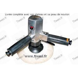 Vertikale pneumatische Polierer Pro 180 mm dia
