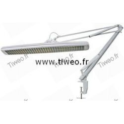 Desk lamp with compact fluorescent 3x14W