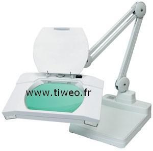Ampliação de lâmpada de luz integrado de base