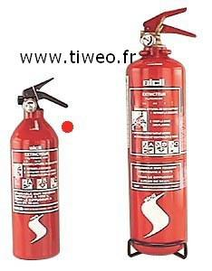 Extintor de polvo versátil