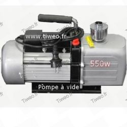 Bomba de vácuo 550W para condicionamento 13,6 m3/hora