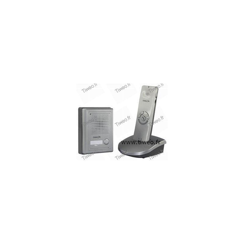 interphone sans fil avec ouverture de porte distance. Black Bedroom Furniture Sets. Home Design Ideas