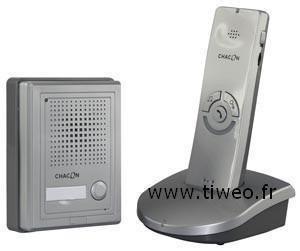 Med remote dörröppning trådlös intercom