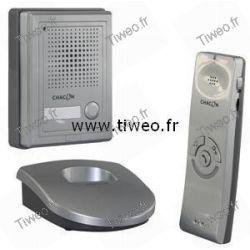 Interphone sans fil avec ouverture de porte à distance