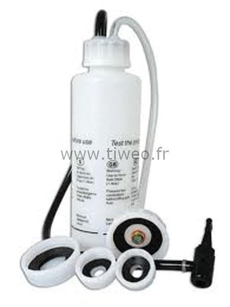 Limpeza automática de fluido de freio