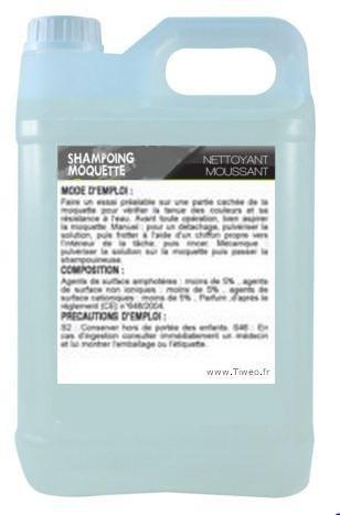 Shampoing moquette de qualité professionnelle