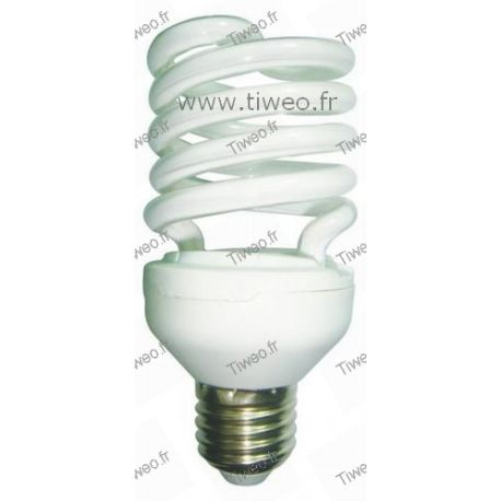 Ampoule fluo grande puissance E27 - 25W (100W) - Blanc froid