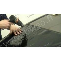 Automóvel preta matizada película solar