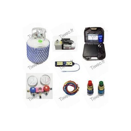 Pacote especial de ar condicionado para garagens ou empresas