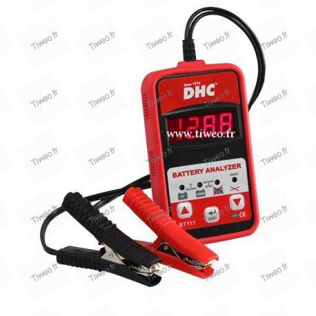 Tester per batterie 12V e 6V