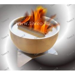 Fireplace ethanol table