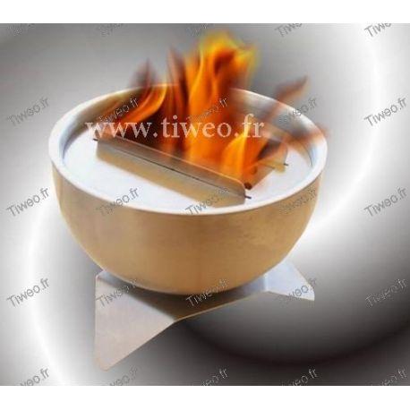 Cheminée ethanol de table