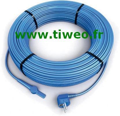 Cable anticongelante calefacción 12 m con termostato