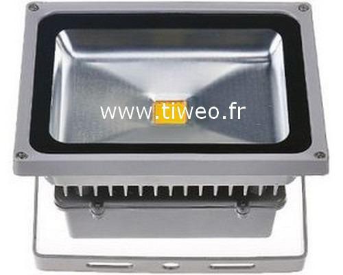 Potente proyector led 50W blanco frío
