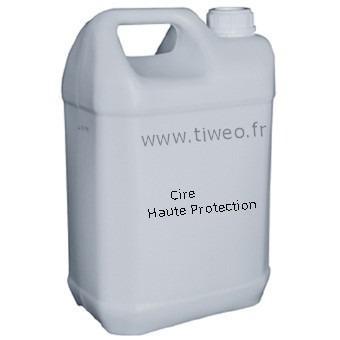 Cire de protection pour plastique et tableau de bord brillant