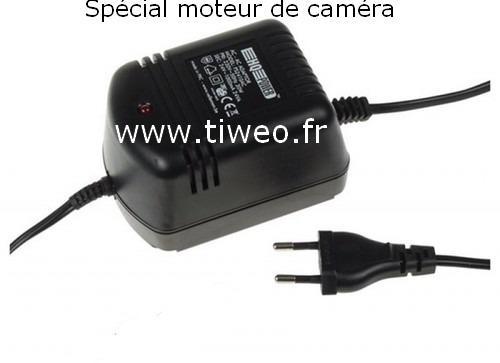 Fonte de alimentação 24v para motor de câmera