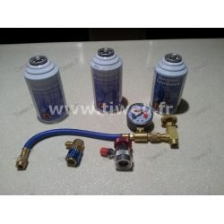 Kit, air conditioning with antifuite for Cars (all vehicles)