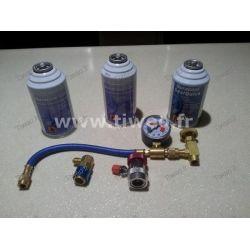 Pacote de ar condicionado com anti-fugas para Automóvel (todos os veículos)