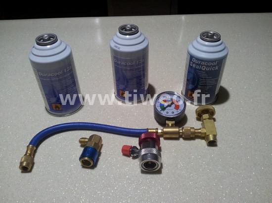 Kit luftkonditionering läcka för bil (alla fordon)