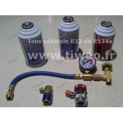 kit recharge climatisation + antifuite Seal tous véhicules