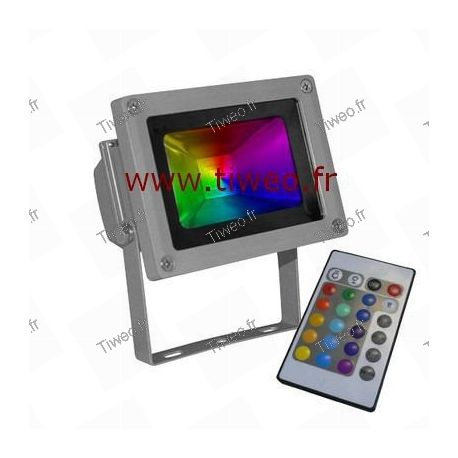 10W RGB led projector red green yellow blue